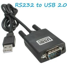 USB 2.0 to RS-232 DB9 9 Pin Serial Port Adapter Windows95/98/2000/XP OS8/OS9