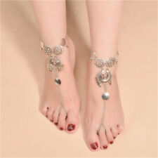 Beach Sandals Anklet Foot Jewelry Bohemia Anklet Chain Charm Coin Barefoot
