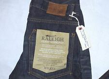 RALEIGH DENIM Wilkes Straight Leg Lowrise Vintage Jeans-Size 30W X 35L-Brand New