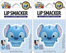Lip Smacker Disney Tsum Tsum Stitch Blueberry Wave - 0.26 oz. ( Pack of 2 )