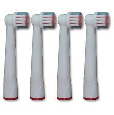 4 x Aufsteckbürsten für Oral-B Precision Clean OralB Ersatzbürsten Sparset