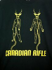 Canadian Rifle Mens M T Shirt Teeshirt Punk Band Black Music Band Shirt