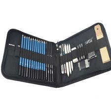 Professional Drawing Artist Kit Set Pencils and Sketch Charcoal Art Tools 32 Pcs