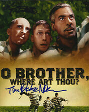 John Turturro & Tim Blake Nelson signed O Brother 8x10 photo  - Big Lebowski