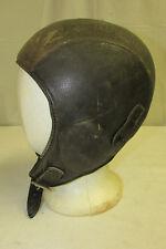 Vtg BUCO Joseph Buegeleisen Leather Aviator Pilot Motorcycle Skull Cap Helmet