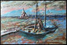 INCREDIBLE Outdoor 3D Metal Wall Art Alfresco 80 x 120 SAILBOATS MARITIME # 2