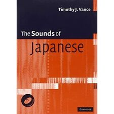 The Sounds of Japanese with Audio CD by Timothy J. Vance Paperback 9780521617543