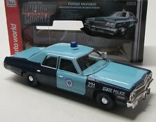 Dodge Monaco State Polizei ( 1974 ) blau / Auto World 1:18