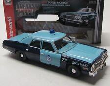 DODGE Monaco Polizia state (1974) blu/auto World 1:18