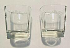 100 Authentic Jack Daniels Glasses Gift Set Pub Bar Whiskey 2 Two Tumblers
