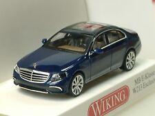 Wiking Mercedes E-Klasse (W213), dunkelblau-met. - 0227 01 - 1/87