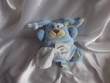 Doudou pantin lapin bleu,Monsters douceur, Doudou et compagnie (cie)