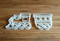 Train and Wagon Cookie Cutters - Train Cookie Cutter & Wagon Cookie Cutter
