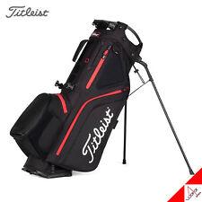 Titleist 2021 Hybrid 5 Golf Stand Bag 9inch 5Way 2.1kg Double Strap-Black/Red