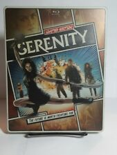 Serenity 2005 (Blu-ray Steelbook, 2013)Used Once - No DVD/UV - Free Shipping