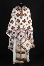 Orthodox Priest Vestment Crooses Pattern Greek Russian Stole