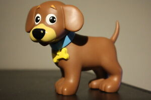 2003 Mattel Viacom Perrito Dog Puppy Figure Dora The Explorer 4 Inch TOY VINYL