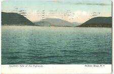 Hudson RIver NY Southern Gate of Highlands 1907 UDB Antique Postcard 23073