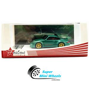 Fuelme Models 1:64 Porsche 911 (993) Gunther Werks 400R (Green) - Resin