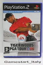 TIGER WOODS PGA TOUR 06 (PS2) - VIDEOGIOCO USATO PERFETTAMENTE FUNZIONANTE - PAL