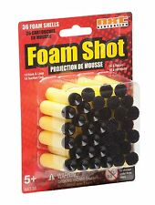 NEW NXT Generation Foam Darts Shot 36 pack 18 Hook & Loop & 18 Suction tipped