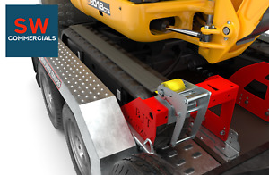 Brian James Trac-Strap Safety System for the Digger Plant 2  Plant Trailer