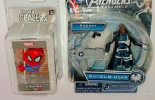Spider Man MARVEL NECA SCALERS Nick Fury Jet Armor Hasbro Avengers SHIELD Figure