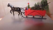 New Listingn scale horse drawn sleigh