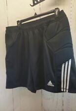 Men's Adidas Soccer GoalKeeper Shorts size XL Black/White padded hip shorts