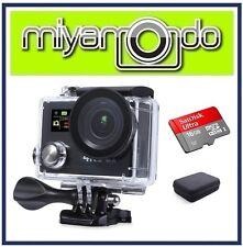Eken H8R Action Camera 4K Ultra HD WiFi (Black) + Ultra microSD 16GB + Case