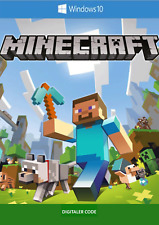 Minecraft Windows 10 Edition PC-Key Download Code - Lieferung per Ebay-Nachricht