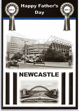 Newcastle St. James Park Father's Day Card. Happy Father's Day