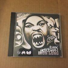 DJ Lennox Method Man The Iron Lung Wu Tang  NYC Mixtape MIX CD