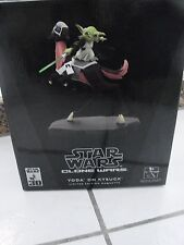 Star Wars Gentle Giant Animated Yoda on Kybuck Maquette 30th Limited 1186/3500