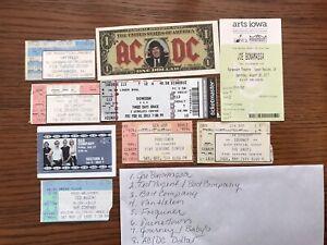 Concert Ticket Stub Lot 1