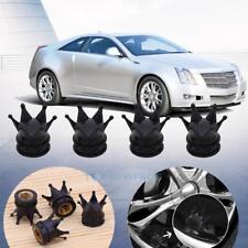 4 Alu Ventilkappen Reifenventilkappen Ventilkäppchen für LKW Auto Reifen Schwarz