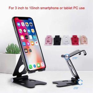 Aluminum Universal Foldable Adjustable Cell Phone Tablet Desk Stand Mount Holder