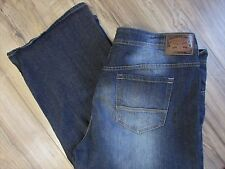"Buffalo David Bitton TAYLOR Blue Denim Jeans Mens 46 X 30 ""Easy Straight"""