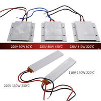 110V/220V Constant Temperature PTC Heating Element Thermostat Heater Plate New