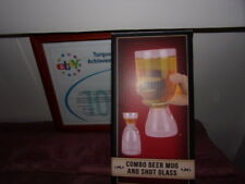 COMBINATION BEER MUG AND SHOT GLASS NEW IN BOX