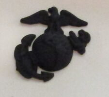 #42 US MARINE CORPS ENLISTED SMALL BLACK HAT BADGE