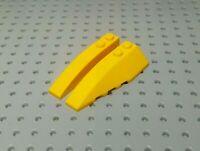 Lego Slope Curved Wedge 6x2 Left & Right [41747 & 41748] Light Orange x1 Pair