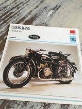 Chang Jiang 750 Black Star 1992 Karte Motorrad Sammlung Atlas China