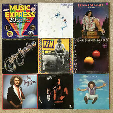 Rock Pop Lp Lot x18 Paul McCartney Wings Billy Joel Heart Sonny & Cher & More