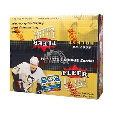 2007-08 Fleer Ultra Hockey 24ct Retail Box