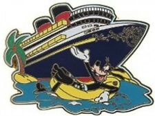 Disney Pin: DCL Disney Cruise Line - Goofy and Ship