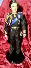 Danbury Mint 1987 19 Inch Prince Charles Bride Groom Doll Commemorative Edition
