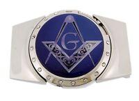 Lighter Mason Belt Buckle Masonic Metal Fashion Men Women Unisex Compass Costume