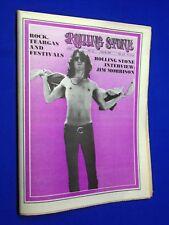 1969 Rolling Stone #38 Jim Morrison Interview The Doors Jimi Hendrix PERFECT!!!