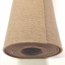 Boat carpet wall lining material 20sq mtrs roll (10m x 2m) SAND Ribbed Finish